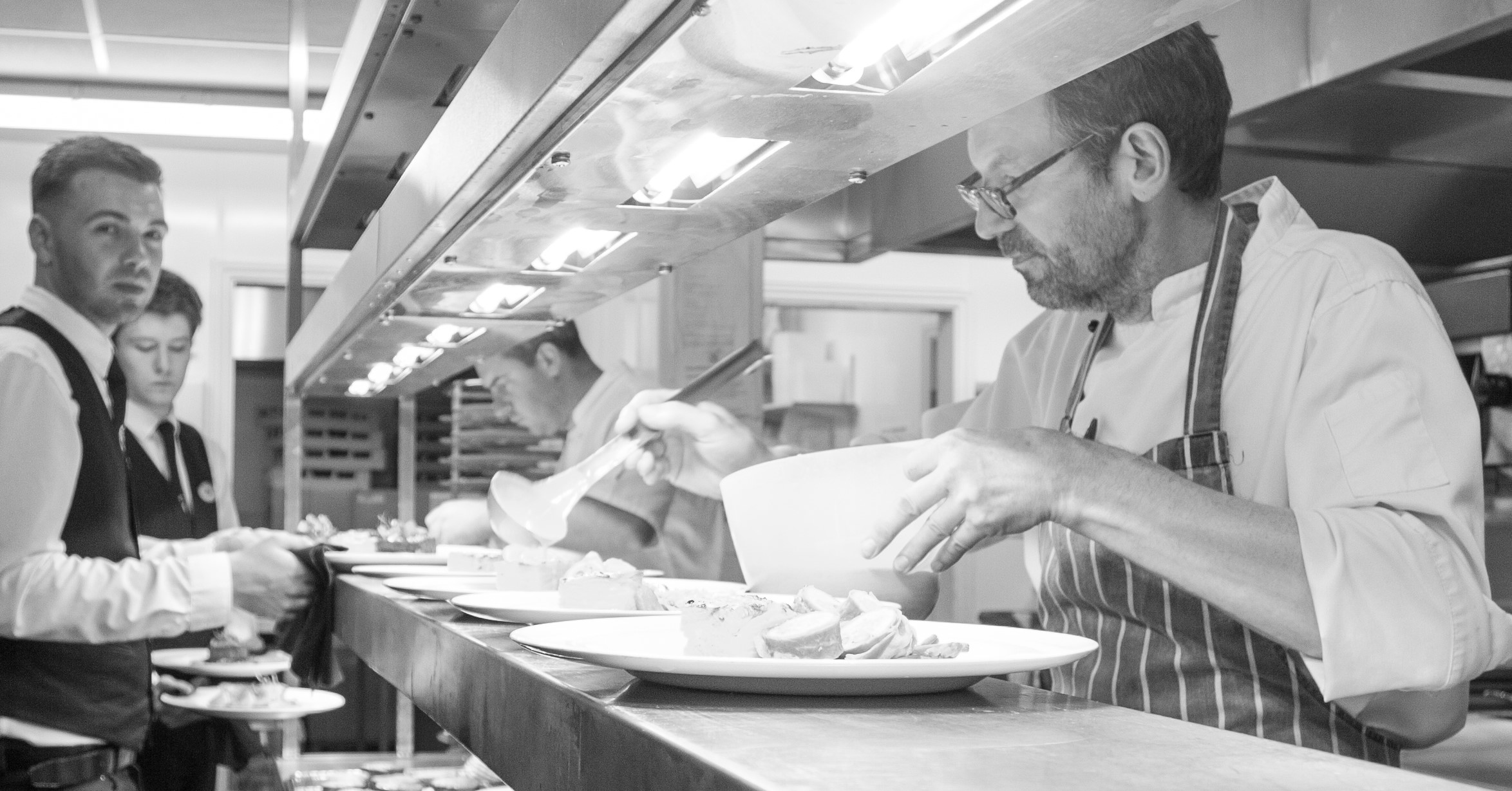 Head Chef preparing Dinner
